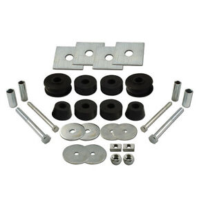 1963-1964-1965-1966-Chevy-GMC-Truck-Cab-Mount-Kit-C10-20-Rubber