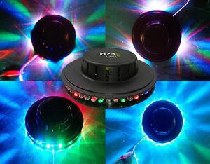 Lampara-con-LED-Efecto-UFO-RGB-8-Vatios-54-Leds-Disco-Del-Flower-Black
