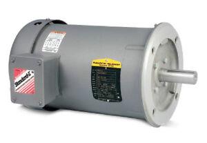 M3539 Baldor Industrial AC Electric Motor 1//2 HP 56C 1140 RPM
