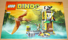 LEGO Dino 1 edifici 5883, only instruction