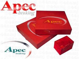 Apec Front Brake Disc & Pad Honda Civic 1.4 (MB2) 97-01
