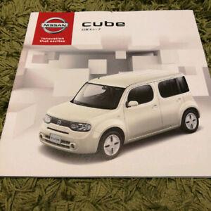 Details About 2019 Nissan Cube Japanese Brochure Jdm