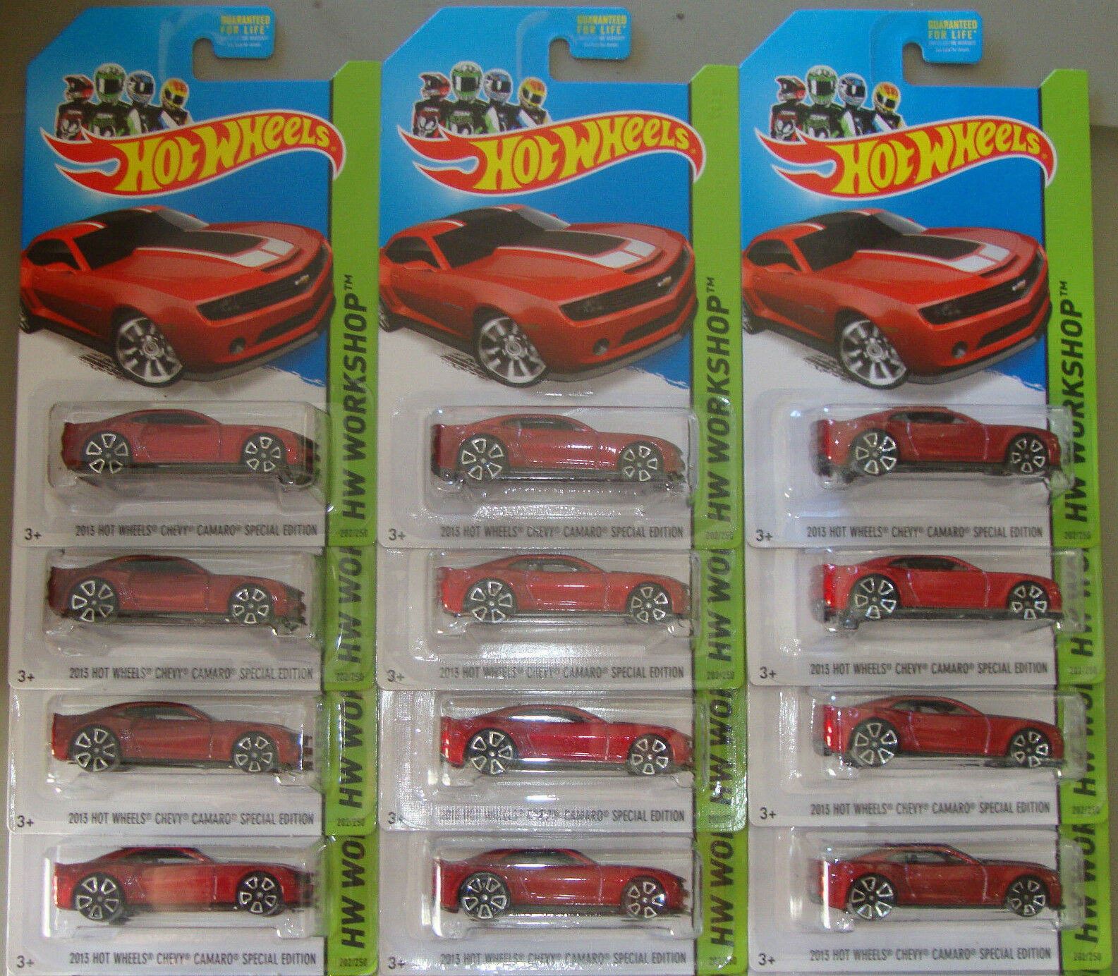 2014 Hot Wheels '13 CHEVY CAMARO SE Lot of 12