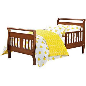Sleigh Toddler Bed Baby Kids Bedroom Nursery Room ...