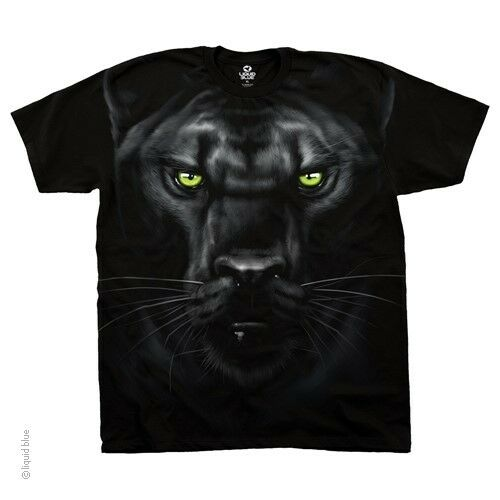 New MAJESTIC BLACK PANTHER T Shirt