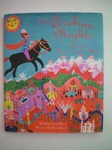 The-Arabian-Nights-retold-by-Fiona-Waters-Hardback-Book