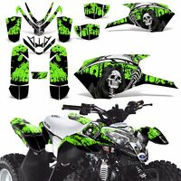 Decal Graphics Kit For Polaris Outlaw 50 Atv Quad Graphics Wrap Deco Reap Green
