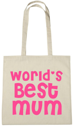 Worlds Best Mum Tote Bag cheap xmas christmas birthday gifts presents for mother