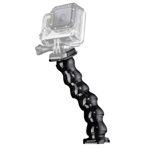 Mantona flexible brazo para GoPro a la prolongación//alineación flexible