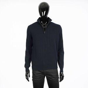 LORO-PIANA-1525-Mezzocollo-Sweater-In-Navy-Blue-Baby-Cashmere