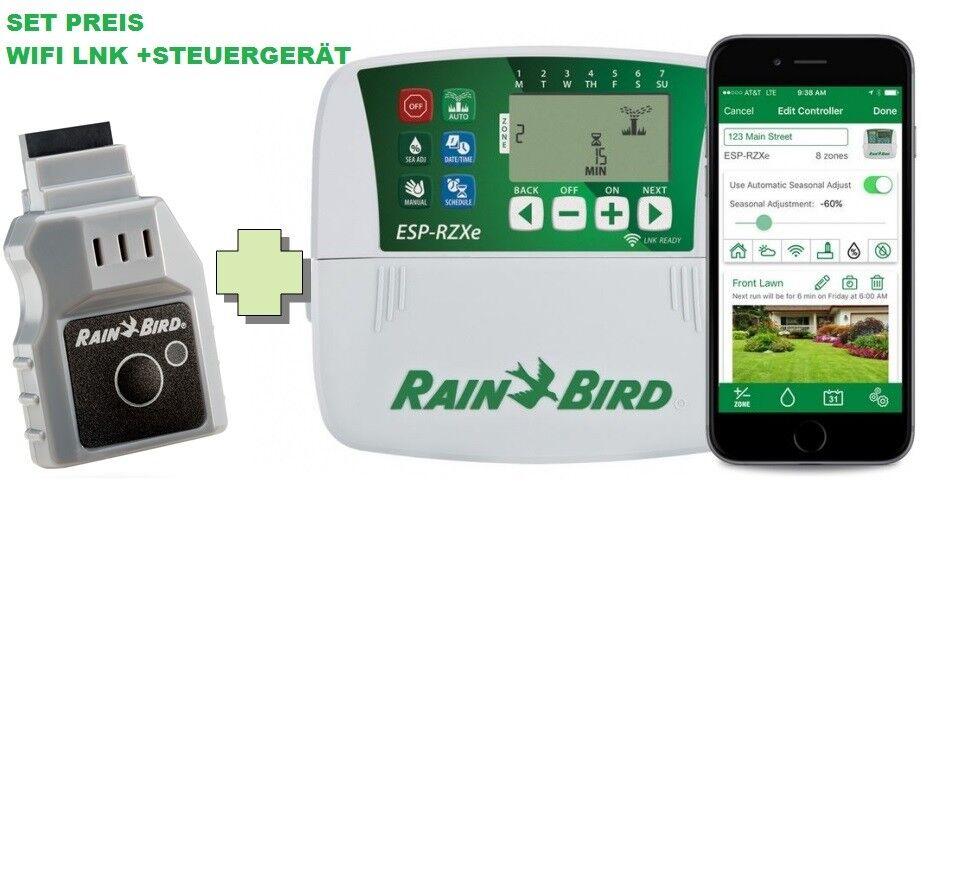 PREISHAMMER SET RZXe6i Steuergerät innen 6 Zonen + LNK WiFi Modul Rain-Bird RZX