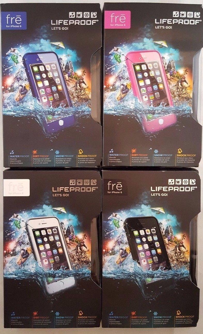 Lifeproof Fre Waterproof Case For Apple Iphone 6 6s Purple Ebay Samsung Galaxy S6 77 51242 Black