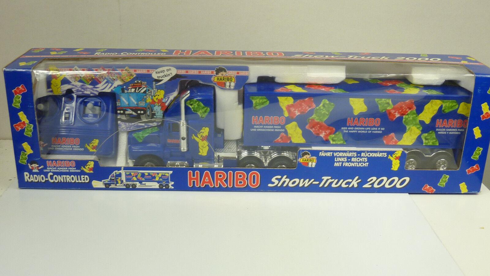 PM Haribo camion 2000 avec télécommande longueur environ 47 cm à NEUF dans sa boîte Voir les images (a759)