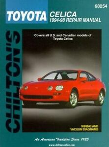 1994 1998 chilton toyota celica repair manual 9780801989599 ebay rh ebay com toyota noah 1998 repair manual toyota noah 1998 repair manual