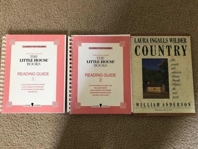 Calvert School Little House On The Prairie Books Reading Guides 1