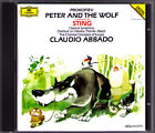 Claudio ABBADO & STING: PROKOFIEV Peter and the Wolf Classical Symphony March CD