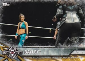 2017-Topps-Wwe-de-Mujer-Division-Cartas-Coleccionables-Momments-Nxt-9-Bayley