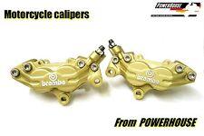 Ducati 748 996 998 ST4 Brembo Goldline front brake calipers refurbished exchange