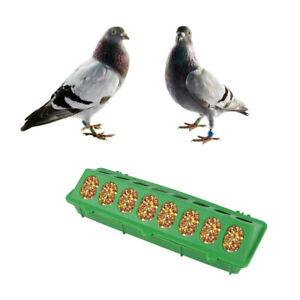 2PCS Pigeon Feeder Cover Feeding Food Dispenser Pet Feeding Slot Food Box