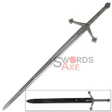 Basket Hilted Two-Handed Highland Claymore Sword of Lordship Ornate Steel