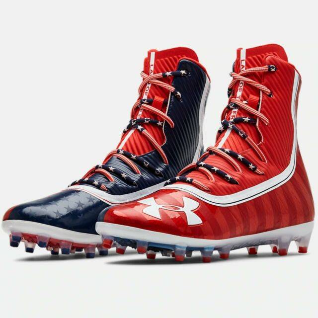 American Flag Football Cleats Size