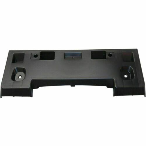DAT AUTO PARTS Premium Front License Plate Bracket Tag Holder Textured Black