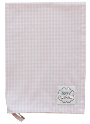 Krasilnikoff Geschirrtuch rosa kariert Spültuch Handtuch Küchentuch