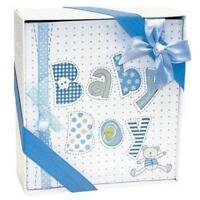 Baby Boy Photo Album, New, Free Shipping