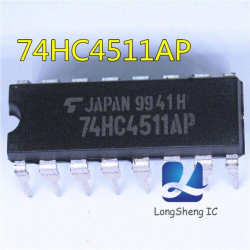 5PCS 74HC4511AP INTEGRATED CIRCUIT 74HC4511AP NEW