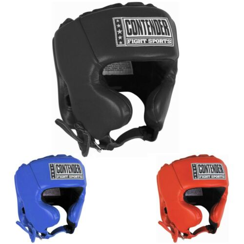 Contender Boxing Competition Headgear with Cheeks
