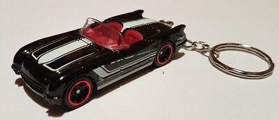 Fiducioso Hot Wheels 55 Corvette Portachiavi Diecast Auto-mostra Il Titolo Originale