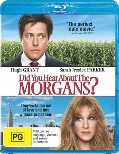 1 of 1 - Did You Hear About The Morgans? Blu Ray ss Region B VG Condition (Disc Only)