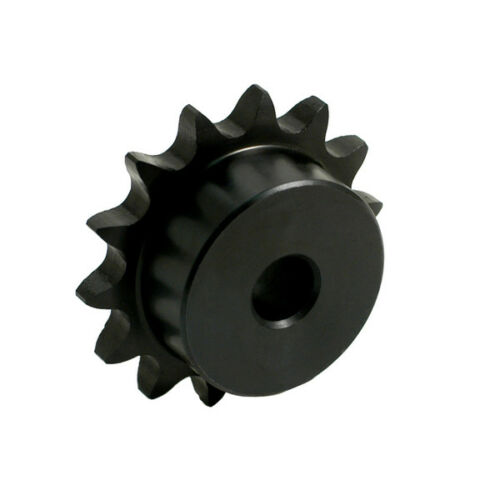 "25B15H X 1//4 MPB  TTN Sprocket 15 Teeth 1//4/"" Plain Bore 1//4/"" Pitch"