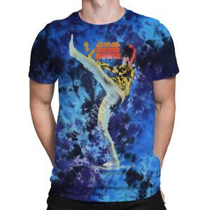 88cd679e Liquid Blue - BOWIE KICK - Tie Dye T-Shirt Official David Bowie T ...