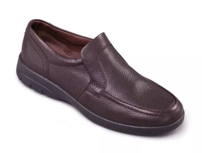 BRS Padders Leo Mens Loafers Dark braun UK 8 G H