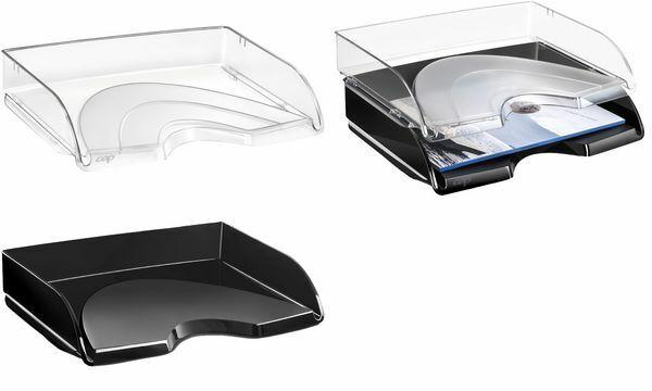 10xCEP Briefablage CepPro DIN A4 quer glasklar