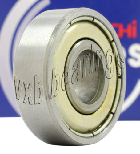 "R6ZZMC4MTSRLEZO Nachi Bearing Shielded C4 Japan 3//8/""x7//8/""x9//32/"" Ball 14430"