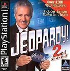 Jeopardy 2nd Edition (Sony PlayStation 1, 2000)