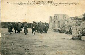 Militaire-Grande-Guerre-1914-15-Poste-Douane-Allemand-Route-de-la-Chapelle