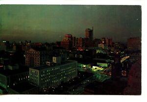 Night-Aerial-View-Downtown-Business-District-Atlanta-Georgia-Vintage-Postcard