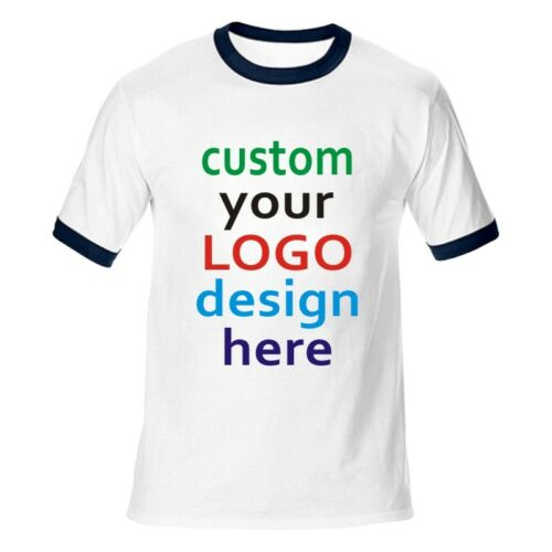 Custom T-shirt Your Personalized Text Artwork Printed all custom colors