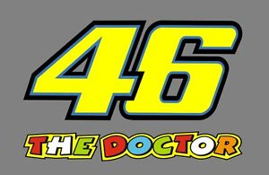 2-x-START-NUMBER-46-Sticker-Valentino-Rossi-The-Doctor