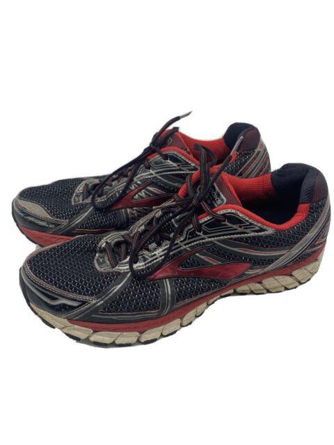 🔥 Brooks Adrenaline GTS-15 Men Running Shoes Red  110181D057 Sz 13