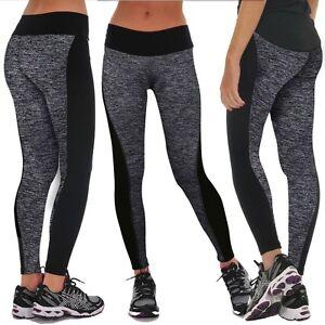 c67ad0ae6834e Ladies Yoga Leggings Pants Jogging Gym Sports Wear Fitness Outdoors ...