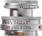 Leica Elmar-M 50 mm F/2.8 MF Objektiv (Schwarz)