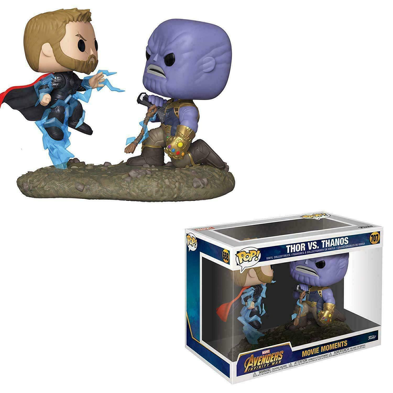 Avengers Película Momentos Thor Vs. Thanos 2u. 9.5cm Pop Pop Pop Vinyl Funko 707 Marvel 1d8c20