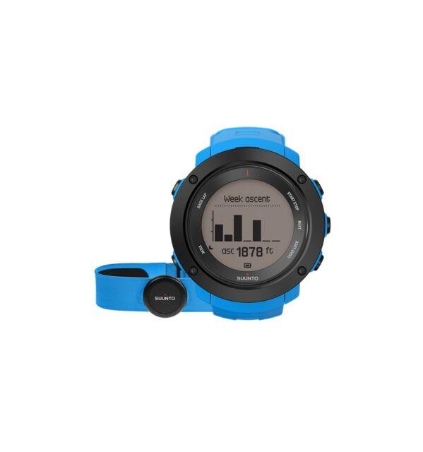 Horloge GPS Randonnée pédestre Extérieur Alpinisme SUUNTO VERTICAL HR bleu