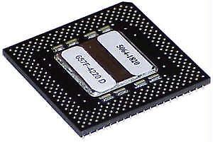 HP Pentium MMX P55C-200Mhz FV80503200 CPU 5064-1820 2.8v Pentium Processor