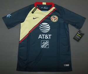 6c855206a Image is loading Nike-Club-America-Away-Soccer-Jersey-919233-455-