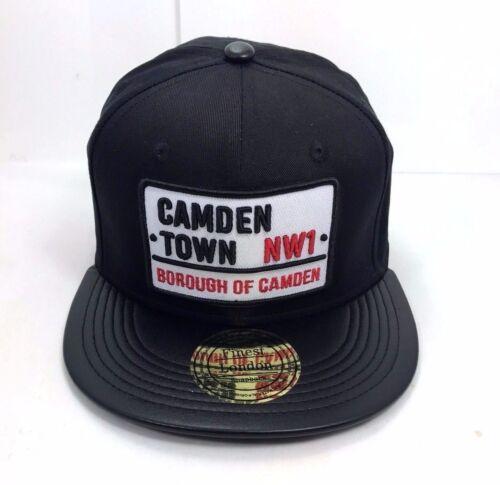 CAMDEN TOWN SNAPBACK FITTED FLAT PVC PEAK HAT